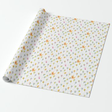 Winnie the Pooh | Pastel Kite Pattern Wrapping Paper