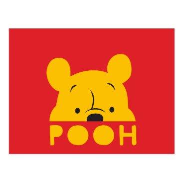 Winnie the Pooh | Peek-a-Boo Pooh Postcard