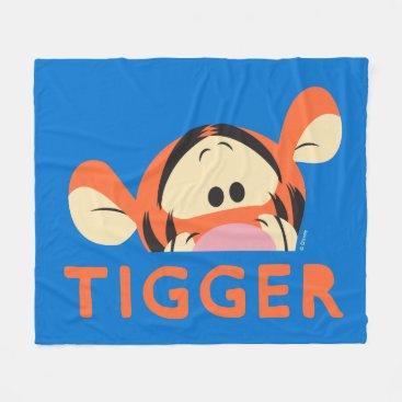 Winnie the Pooh | Peek-a-Boo Tigger Fleece Blanket