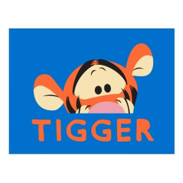 Winnie the Pooh | Peek-a-Boo Tigger Postcard