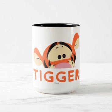 Winnie the Pooh | Peek-a-Boo Tigger Two-Tone Coffee Mug