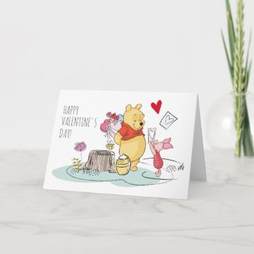 Winnie the Pooh & Piglet | Sweet Like Honey Holiday Card