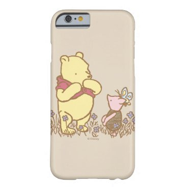 Winnie the Pooh | Pooh and Piglet in Field Classic Barely There iPhone 6 Case