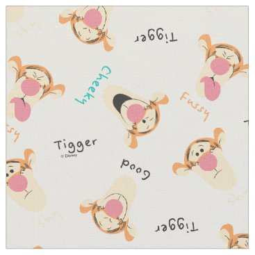 Winnie the Pooh | Tigger's Expressions Pattern Fabric