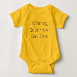Winning Gold From Day One Baby Tee