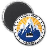 Winter Park Colorado Magnet