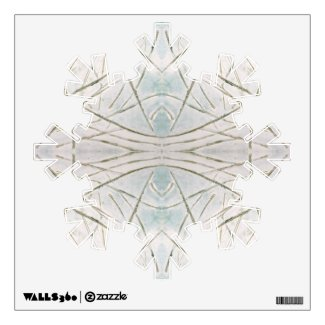 Winter Snowflake Christmas Holiday Wall Art Wall Decals