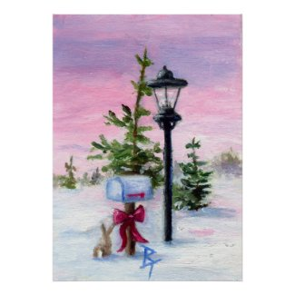 Winter Wonderland Poster print