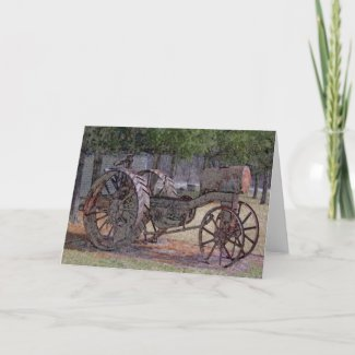 Wisconsin Tractor card