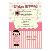 Wishes Granted Birthday Party Invitation