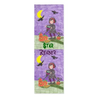 Witch 3, Star Reader mini bookmarks Double-Sided Mini Business Cards (Pack Of 20)