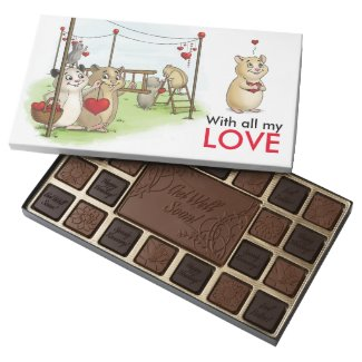 With All My Love 45 Piece Assorted Chocolate Box