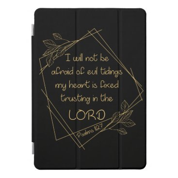 Women's Christian Verse: I Will Not Be Afraid iPad Pro Cover