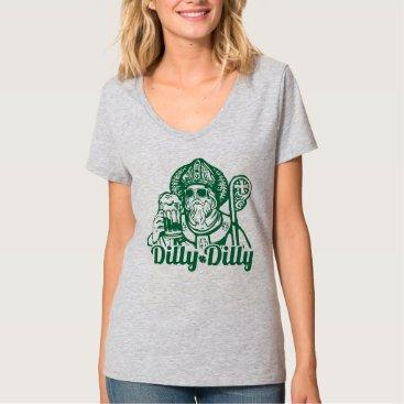 Women's Dilly Dilly St. Patrick's Day V-Neck Shirt
