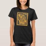 Women's Tiger Block Cut T-shirt