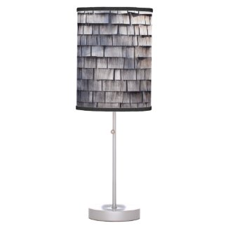 Wood Shutters Table Lamp