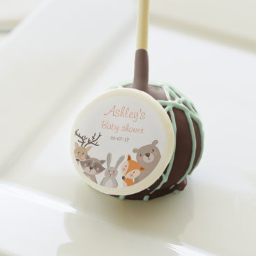 Woodland baby shower favors Forest animals Bear