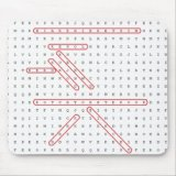 Word Search Geek Mousepad