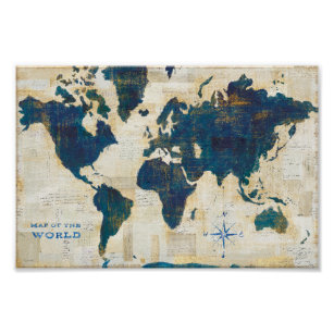 world map posters prints zazzle