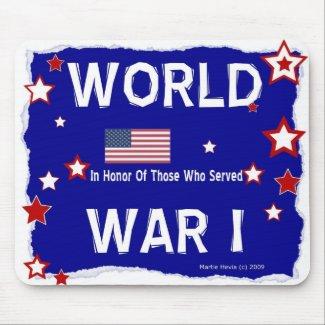 World War I - In Honor - Mousepad