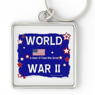 World War II - In Honor Key Chain