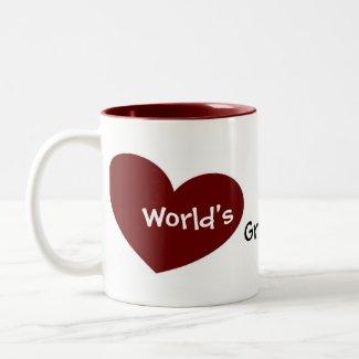 World's Greatest Daddy Mug mug