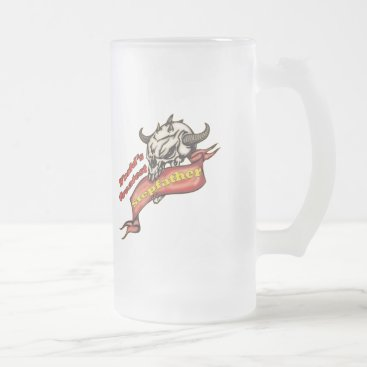 World's Greatest Stepdad Father's Day Gift Frosted Glass Beer Mug