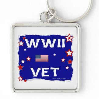 WWII Vet Keychains