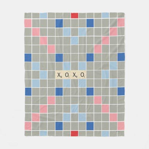 XOXO FLEECE BLANKET