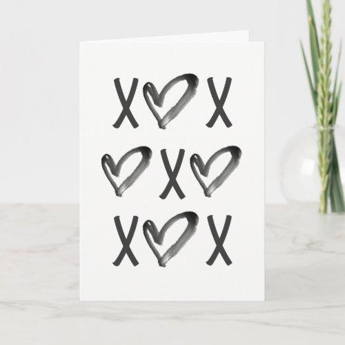 XOXO HOLIDAY CARD
