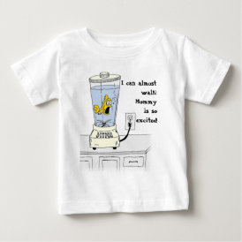 Ya Betcha I'm Stressed! (Fish in a Blender) Baby T-Shirt