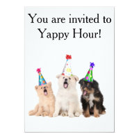 Yappy Hour Invitations