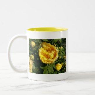 Yellow Roses Mug mug