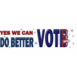 Yes We Can Do Better: Vote 2012 zazzle_mug