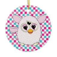 Yeti White Furby Ornaments