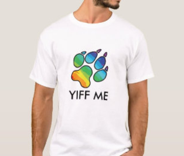 Yiff Me T Shirt