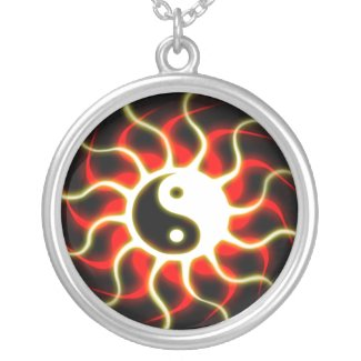 Yin Yang Sun - Necklace necklace