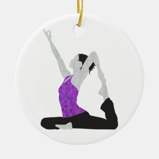 King Pigeon Pose Ornament