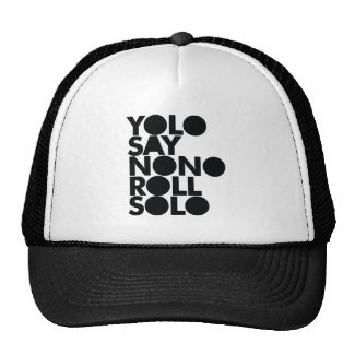 YOLO Roll Solo Filled Mesh Hats