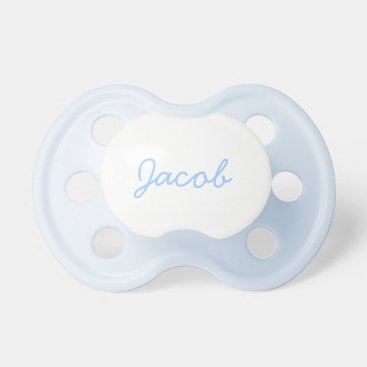 Your name here - Blue Paci Pacifier