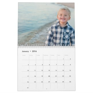 Your Photo on Every Page Calendar