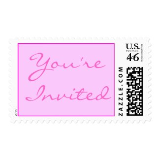 You're Invited Stamp