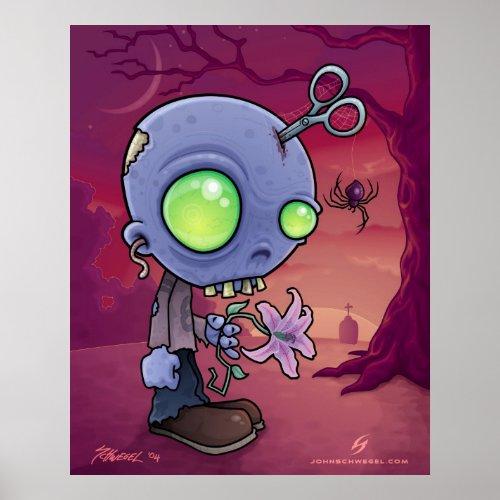 Zombie Jr. print