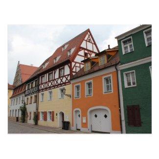 Bunte Häuser Postkarten