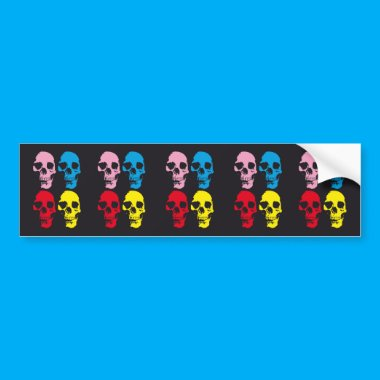 """SKULL AND BONES COLOURFUL T-SHIRTS"""