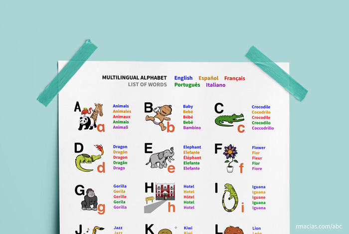 Spanish Words That Start With The Letter A Poemdocor