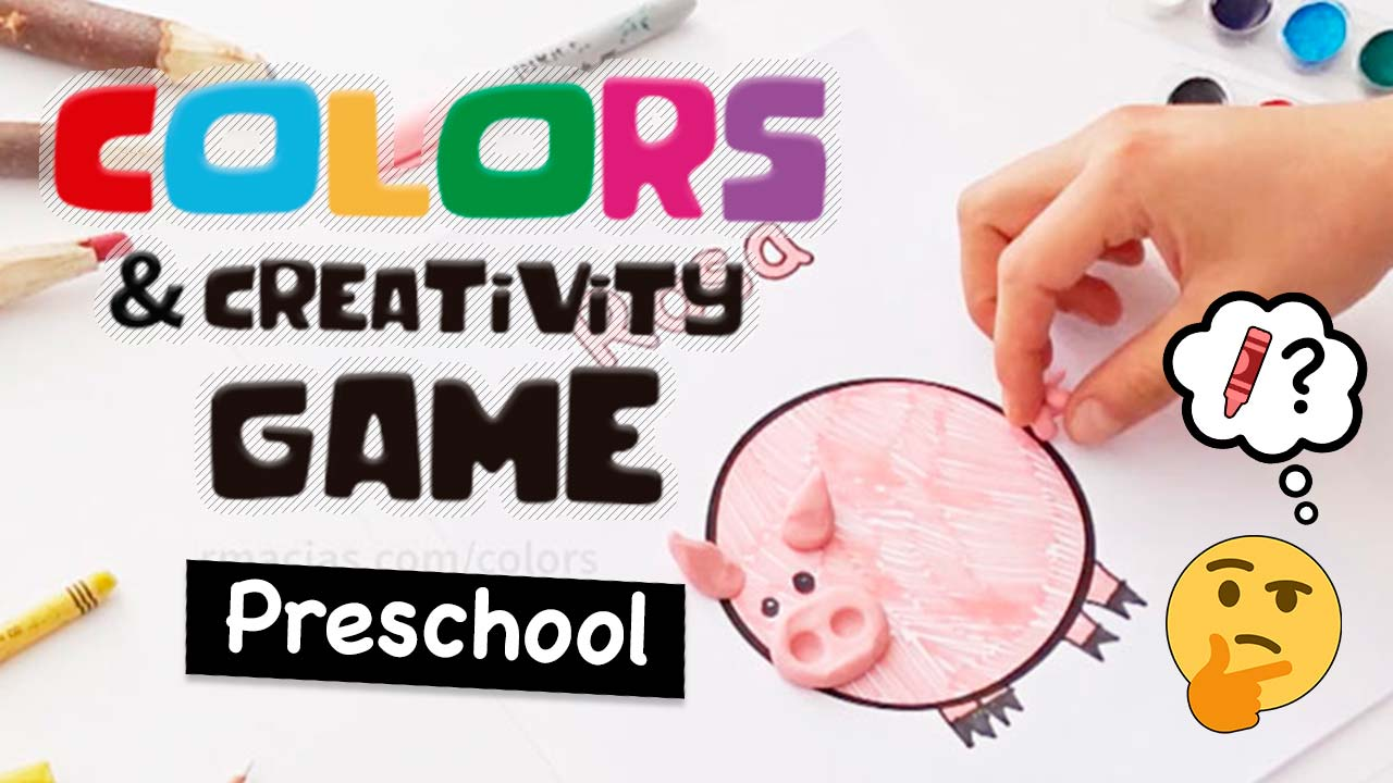 Spanish colors for preschool - Colors And Creativity A Preschool Game Idea To Practice Color Names In Any Language