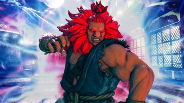 Street Fighter V Akuma Design