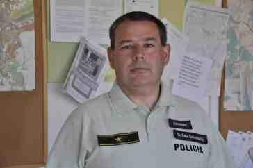 Peter Belopotocký, riaditeľ OO PZ v Ružomberku. Foto - autor.