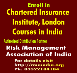 Join CII London Courses - Risk Management Association of India